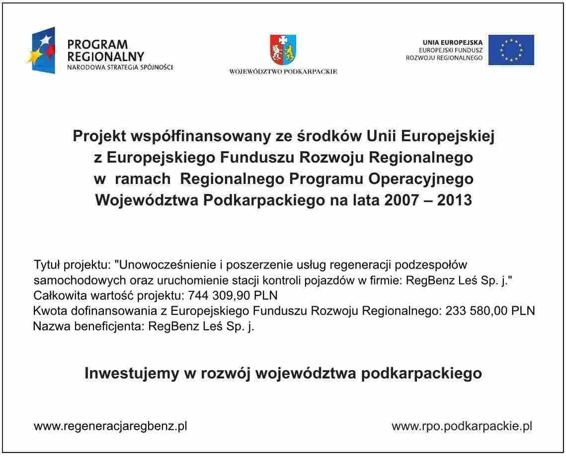 tablica projektu UE