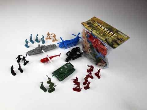 Zabawka - żołnierzyki